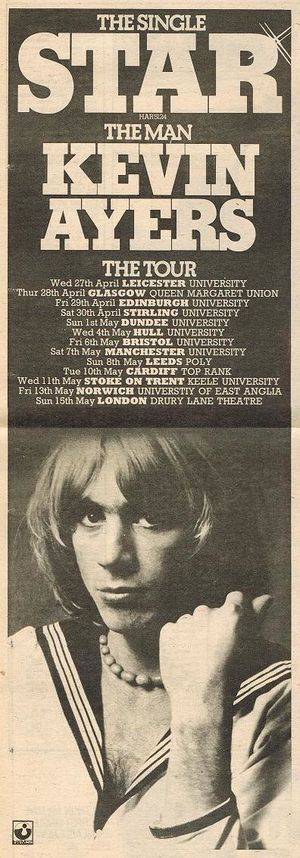 1977 04-05-Kevin Ayers single and tour ad.jpg